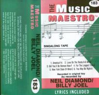 NEIL DIAMOND / BILLY JOEL - Audiokassetten