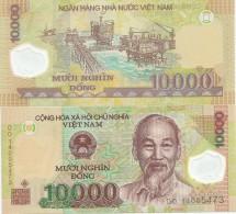 Vietnam 10000 Dong 10.000  2014. UNC POLYMER - Vietnam