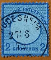 GERMANY 1872 2gr Imperial Eagle Used Scott5 CV$14 **RARE** - Oblitérés