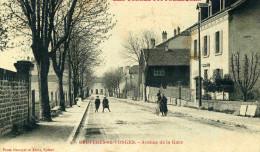 BRUYERES - VOSGES (88) - PEU COURANTE CPA ANIMEE DE 1910. - Bruyeres