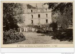 77-CROUY-sur-OURCQ- Maison De Retraite Des Cheminots Du Nord-La Vigne-Très Animée - Autres Communes