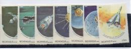 Serie Nº 1330/3 + A-1059/61 Nicaragua - Astrología