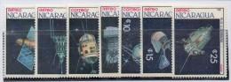 Serie Nº 1461/2 + A-1180/4 Nicaragua - Astrología