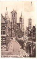 Gent St Nikolaaskerk, Belfort En St Baafskerk Nr74 - Gent