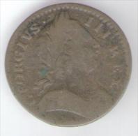 GREAT BRITAIN / GRAN BRETAGNA - George III - Farthing ( 1773 ) Copper - 1662-1816 : Antiche Coniature Fine XVII° - Inizio XIX° S.