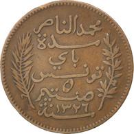 Tunisie, 5 Centimes, 1908 A (Paris), KM 235 - Túnez