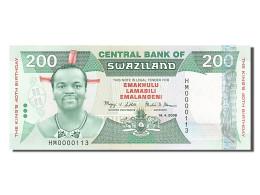 Swaziland, 200 Emalangeni, Type Roi Mswati III - Swaziland