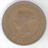 SRI LANKA CEYLON 1 CENT 1870 - Sri Lanka