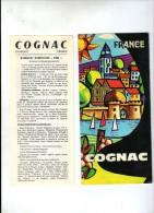 Publicité + Son Complément , COGNAC , 8 Pages , Frais : 1.80€ - Publicités