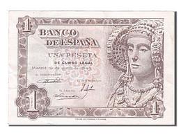 [#254995] Espagne, 1 Peseta, Type Dame D'Elche - [ 3] 1936-1975 : Régence De Franco