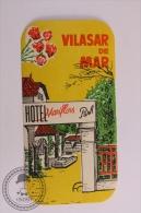 Hotel Mariflors Park. Vilasar De Mar - Spain - Original Vintage Luggage Hotel Label - Sticker - Hotel Labels