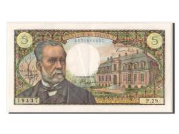 [#303270] 5 Francs Pasteur Type 1966, 1966, Fayette 61.3 - 5 F 1966-1970 ''Pasteur''