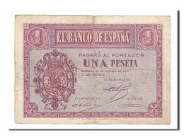 [#154929] Espagne, 1 Peseta Type 1937 - 1-2 Pesetas