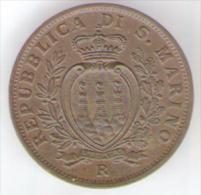 SAN MARINO 10 CENTESIMI 1935 - San Marino