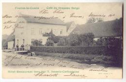 E3655 - FOURON LE COMTE  -  Café Du Drapeau Belge SMEETS - CERFONTAINE - Voeren