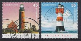 Germany 2004  Leuchtturme  (o)  Mi.2409-2410 - [7] Federal Republic