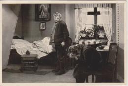 GERMAN MOVIE CIGARETTE CARD 1920's CINEMA Actor WERNER KRAUSS Actress EDITH POSCA Film SCHERBEN (1921) - Zigarettenmarken