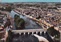 CPSM * * CHATELLERAULT * * Vue Aérienne, Le Pont Henri IV Et La Vienne - Chatellerault