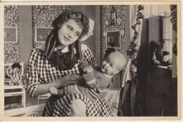 GERMAN MOVIE CIGARETTE CARD 1910's CINEMA Actress OSSI OSWALDA Film OSSIS TAGEBUCH (1917) - Cigarette Cards