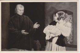 GERMAN MOVIE CIGARETTE CARD 1920's CINEMA Actress LIL DAGOVER Actor BERNHARD GOETZKE Film Der Müde Tod 1921 - Cigarette Cards