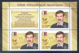 RUSSIA 2014 stamp MNH (**) VF ROZHKOV HERO AWARD ARCTIC DIVING ARCTIQUE POLAR NORD