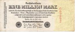 Banconota Da 1 Milion Mark Del 1923 - [ 3] 1918-1933 : Repubblica  Di Weimar