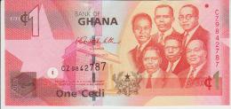 Ghana 1 Cedis 2010 Pick 37 UNC - Ghana