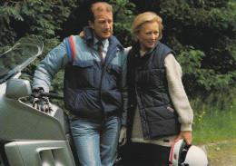 LL.MM  Le Roi Albert II Et La Reine Paola.........(scan Verso). - Affiches Sur Carte