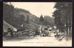 52 PLOMBIERES LES BAINS - Industrie Du Bois - Les Scieries - Other Municipalities