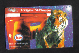 GERMANY -  ESSO  USED   CHIP CARD 1999 - Oil