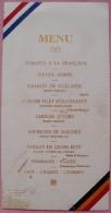 MENU BANQUET OFFERT PAR ADMINS. DE LA LOUVIERE A GARDE REPUBL.FRANC 1926-BALAY - Menu