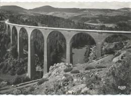 LE MONASTIER SUR GAZEILLE  - Viaduc De Recoumène, Aspect Nord-Est - France