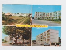84 - Reflets De MONTFAVET - Multivues Les Quartiers Neufs - Immeubles 2CV CITROEN Ami 6 Enfants Borne Incendie -  1973 - Frankreich