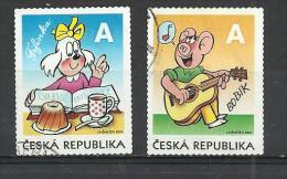 CZECH REPUBLIC 2010 - FIFINKA AND BOBIK - USED OBLITERE GESTEMPELT USADO - Tchéquie