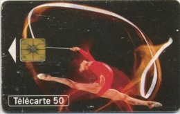 FRANCE - GYMNASTIQUE BERCY - 50 U  (USAGÉ) - France