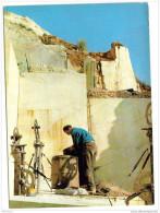 Cpsm Italie Carrara Ouvrier Marbrières - Carrara