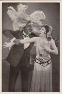 GERMAN MOVIE CIGARETTE CARD 1920's CINEMA Actor HANS JUNKERMANN Actress LILIAN HARVEY Film DIE TOLLE LOLA 1927 - Zigarettenmarken