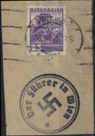 AUTRICHE AUSTRIA ÖSTERREICH Poste   450 (o) Cachet III Reich Allemagne : Visite Hitler à Vienne - Used Stamps