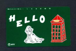 JAPAN - Used Magnetic Phonecard (231-252) As Scan - Japan