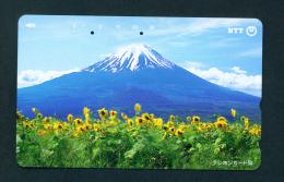 JAPAN - Used Magnetic Phonecard (251-381) As Scan - Japan