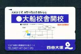 JAPAN - Used Magnetic Phonecard (110-011) As Scan - Japan
