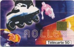 FRANCE - STREET CULTURE ROLLER - 50 U   (USAGÉ) - France