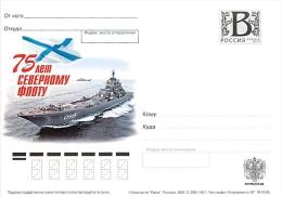 RUSSIA 2008 B17 160/1 75 Years The Northern Fleet - Covers