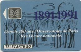 FRANCE - OBSERVATOIRE DE PARIS - 50 U  (USAGÉ) - France