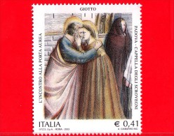 Nuovo - MNH - ITALIA - 2003 - Cappella Degli Scrovegni, Padova - 0,41 € • Incontro Alla Porta Aurea, Giotto - 6. 1946-.. Republic