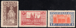 1937 - España - Edif. ** 833/835 - 1931-50 Nuevos & Fijasellos
