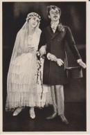 GERMAN MOVIE CIGARETTE CARD 1920's CINEMA Actor RALPH ROBERTS Actress HENNY PORTEN Film MEINE TANTE DEINE TANTE 1927 - Cigarette Cards