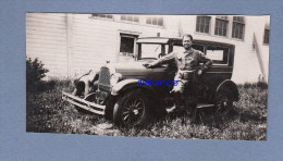 Photo Ancienne - Belle Automobile Américaine à Identifier Et Son Propriétaire - Cars