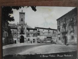 BORGO VELINO   PIAZZA UMBERTO I   ANTRODOCO  1955 - Rieti