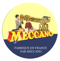 MECCANO 1930 GRAND BADGE CADRE PUB VINTAGE